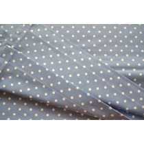 Blue and white polka dot print sling (Fabric sling only)