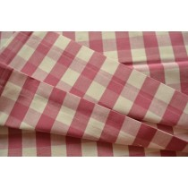 Pink and white check print sling (Fabric sling only)